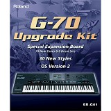 ROLAND Piano Digital G-70 Upgrade Kit [SR-G01] - Keyboard Software & Expansion Card